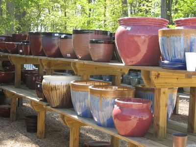 In addition to a broad range of plants, we also have beautiful pottery, fountains and garden accessories.