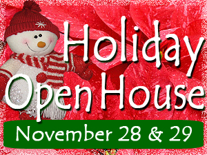 2014 Poinsettia Holiday Open House at Milmont Garden Center