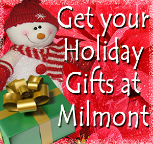 Milmont Garden Center has a variety of Holiday gift items.